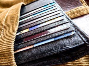 pants, wallet, credit card
